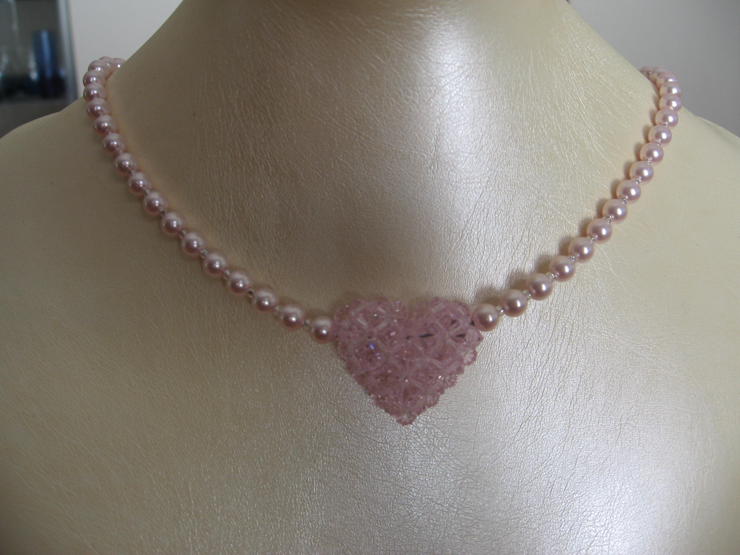 necklace wholesale pearl purple uk pink jewellery shell long crystal
